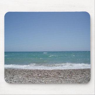 Exotischer Strand und blaues Ozeansommer mousepap Mousepads