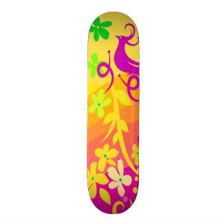 Exotischer Vogel in den tropischen Farben 21,6 Cm Skateboard Deck