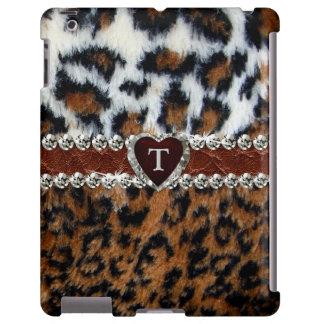 Exotischer wilder Leopard-Pelz iPad Fall