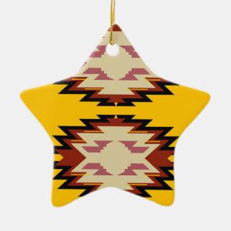 Exotisches Gold Azteken des Entwurfs Keramik Ornament