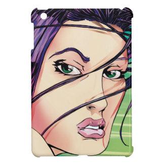 Exotisches weibliches Modell von Jersey iPad Mini Hülle