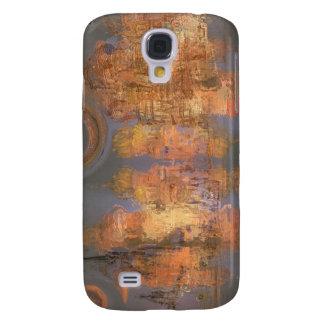 Expansion - goldene schimmernde Stadt des Traums Galaxy S4 Hülle