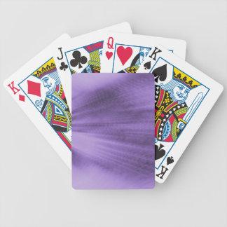 Explodierender Lavendel Bicycle Spielkarten