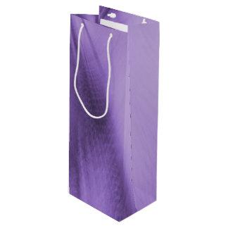 Explodierender Lavendel Geschenktüte Für Weinflaschen