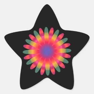 Explosion 19 Stern-Aufkleber