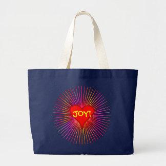 Explosion der Freude-Tasche Jumbo Stoffbeutel