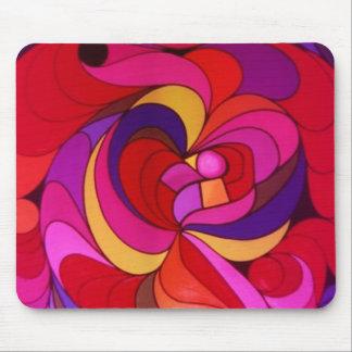 Explosion von Farben Mauspads