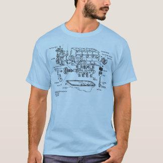 Explosionsdarstellung 22re T-Shirt