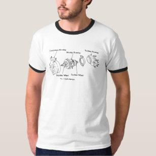 Explosionsturbolader-Diagramm T-Shirt