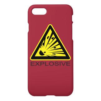 Explosives Gefahrenzeichen iPhone 8/7 Hülle