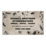 Exterminator-Visitenkarte