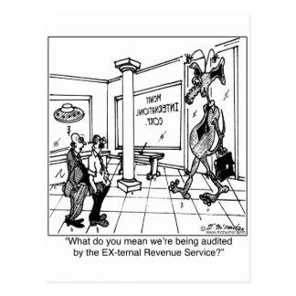 Externer Einkommens-Service? Postkarte