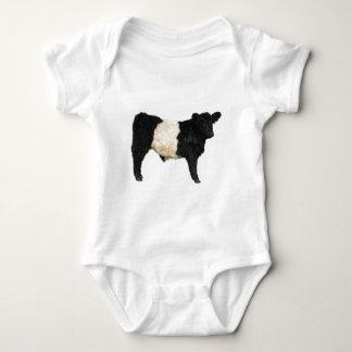 Extravagant ein Oreo? Umgeschnallte Galloway-Kuh Baby Strampler