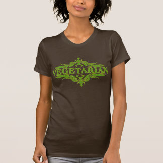 Extravagant im Grün - Vegetarier Tshirt