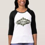 Extravagant im Schwarzen - Vegetarier T-Shirts