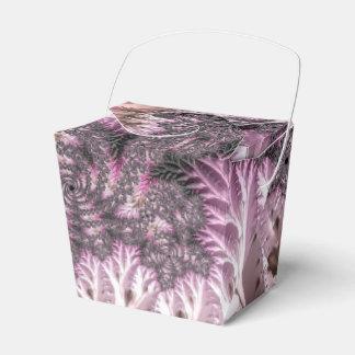 Extravagante elegante Fraktale mit coolen Geschenkschachtel