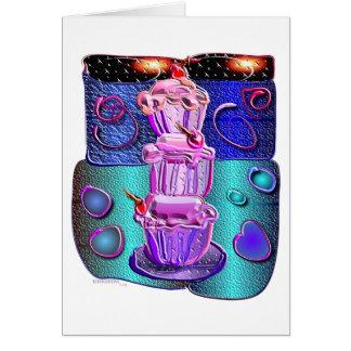 extravagante Schalenkuchen 1 Karte