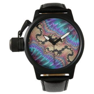 Extravagante u. Spaß-Fraktale mit coolen Armbanduhr