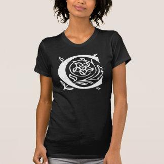 Extravaganter Buchstabe C T-Shirt