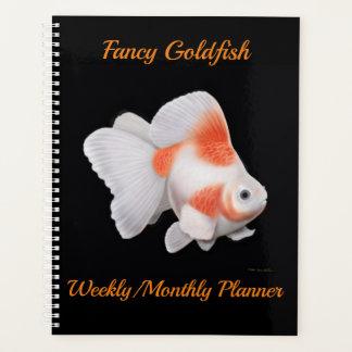 Extravaganter Fantailgoldfish-wöchentlicher Planer