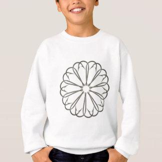 Extravaganter Fischerei-Haken-Blumen-Entwurf Sweatshirt