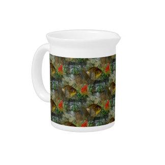 Extravaganter Goldfish-Schimmer Krug