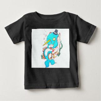 Extravaganter Herr Narwhal Baby T-shirt