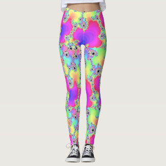 Extravaganter Regenbogen Leggings