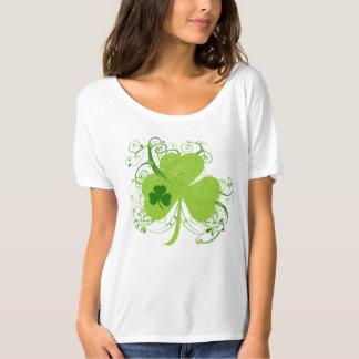 Extravagantes Kleeblatt St. Patricks Tages T-Shirt