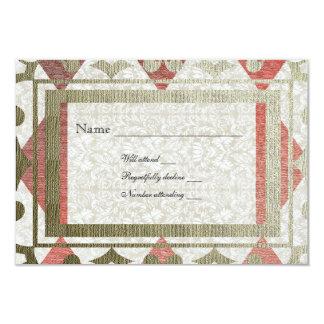 Extravagantes mittelalterliches uAwg des Rot-und Personalisierte Ankündigungskarten