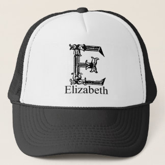 Extravagantes Monogramm: Elizabeth Truckerkappe