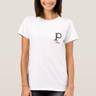 Extravagantes Monogramm: Patty T-Shirt