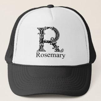 Extravagantes Monogramm: Rosemary Truckerkappe
