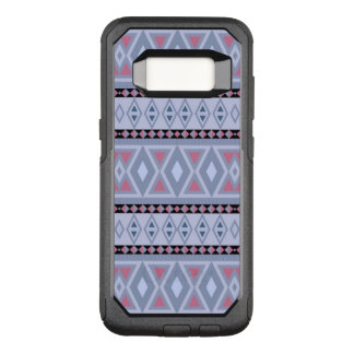 extravagantes Stammes- Musterblau (i) OtterBox Commuter Samsung Galaxy S8 Hülle