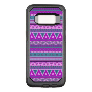 extravagantes Stammes- Rosa des Grenzmusters 08 OtterBox Commuter Samsung Galaxy S8 Hülle