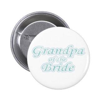 Extravaganz-Großvater der Braut Runder Button 5,7 Cm