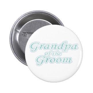 Extravaganz-Großvater des Bräutigams Runder Button 5,1 Cm
