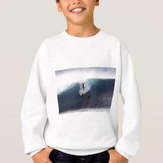 Extrem, das große Blauwellen surft Sweatshirt