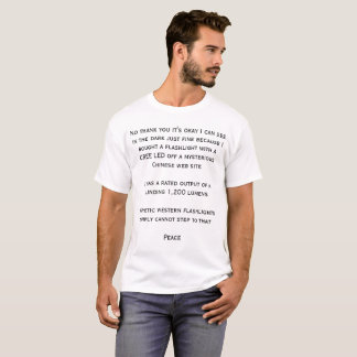 Extrem helles T-Shirt
