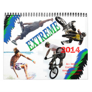 Extrem trägt Kalender 2014, DURCH Karen J Williams