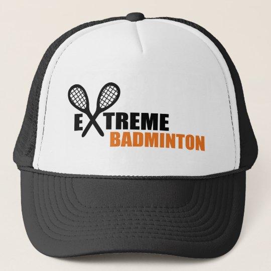 extreme badminton truckerkappe