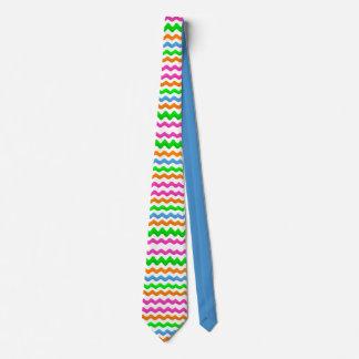 Extreme Farben verlaufen Rick-Gestell im Zickzack Krawatte
