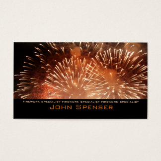 Extreme Pyrotechnik - Visitenkarten