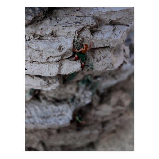 Extremer Bergsteiger Postkarten