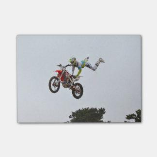 Extremer Motocross Post-it Klebezettel