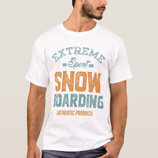 Extremer Sport-Snowboarding T-Shirt