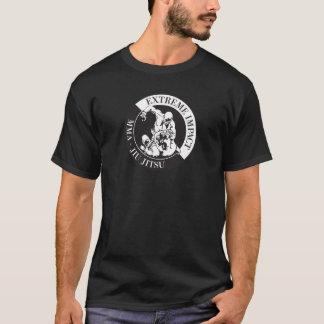 Extremes Auswirkungs-Kampf-Team-Shirt-Schwarzes T-Shirt