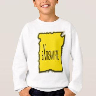 Extremes Feuer Sweatshirt
