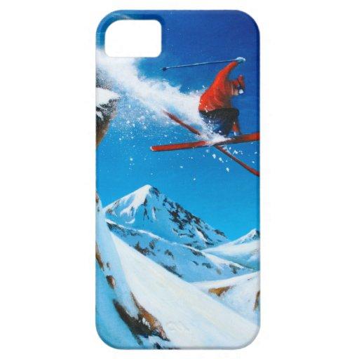 Extremes Skifahren Etui Fürs iPhone 5
