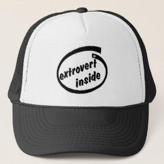 Extrovert innerhalb des T - Shirt Truckerkappe